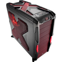 Gabinete Gamer Aerocool Strike X Advance En58032 Vermelho