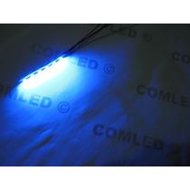 Módulo 6 Led Fácil Instalar Pc Casemod, Uv Luz Negra, Azul