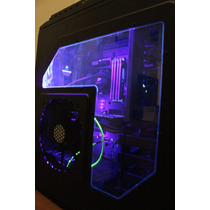 Fita Led Ultravioleta Com 1 Metro E Cabo Molex 12v Casemod