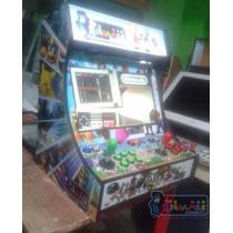 Gabinete Bartop Fliperama Arcade Adesivado + Brinde
