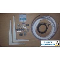 Kit Instalação Ar Condicionado Split Tubos 2m.+ Suporte