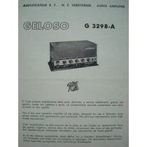 Manual Do Amplificador Geloso G 3298-a.