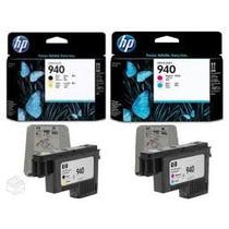Kit Cabeça De Impressão Hp 940 - C4900a E C4901a Originais
