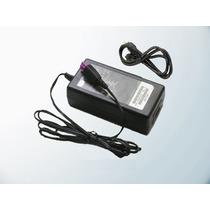 Fonte P/ Impressora Wi Fi Hp 2546 Plug Roxo + Cabo Força