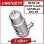 Refil Para Filtro De Purificacao Lorenzetti Gioviale (rpc1)