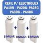 3 Refil Filtro Purificador Água Electrolux Pa25g Pa30g Pa40g
