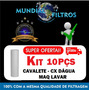 Refil Cartucho 10pçs Filtro Caixa Dágua Tigre Fortlev 3m