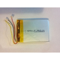 Bateria Mp3 Mp4 Mp5 Gps 3 Fios 3100mah 11.47wh 3.7v