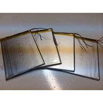 Bateria Para Tablet 2600mah 3,7v 7cm X 8,3cm X 0,3cm 2 Fios