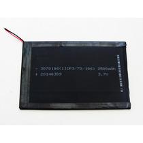Bateria Tablet 3,7v 2500 Mah 10,5x7cm Original Nova