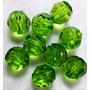 Contas Acrílicas Verdes 8mm Imitação Cristal Pacote 2000 Un