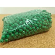 Miçanga Pequena Cor Verde - Pacote 450 Gr