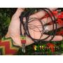 Cordão Artesanato Hippie - Modelo Macramé Phantom Quartz #1