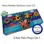 Kit Rainbow Loom - A Nova Sensação - Pronta-entrega !