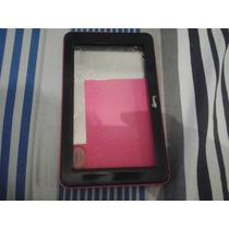 Carcaça Tablet Lenoxx Tb55 Rosa Semi-nova