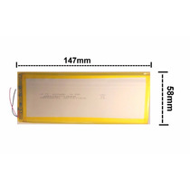 Bateria Tablet Genesis Gt-7220s Original Modelo Wd4356156p