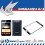 Tela Vidro Lente Lcd Samsung Galaxy Note I9220 N7000 Preto