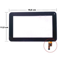 Tela Touch Tablet Multilaser Diamond Lite Nb042 7 Polegadas