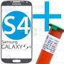 Tela Vidro Lente Samsung Galaxy S4 I9500 I9505 + Cola Uv