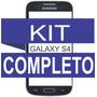 Tela Vidro Samsung S4 Preto + Kit Remoção + Cola Uv