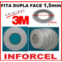 Fita Adesiva 3m Dupla Face 1,5mm 50mts P Reparo Touchscreen