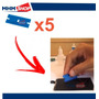 Kit 5 Laminas Removedor De Cola Uv Celular - Touch Lcd Vidro