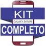 Tela Vidro Galaxy S4 Mini Vermelho + Kit Remoção ***