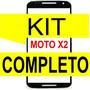 Tela Vidro Moto X2 Xt1097 1098 Preto + Kit Remoção