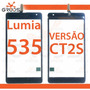 Tela Touch Microsoft Lumia 535 Nokia N535 Dual Versão Nova