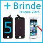 Tela Touch Display Iphone 5 5g Lcd Original Preto E Branco