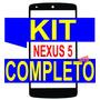 Vidro Tela Lg Nexus 5 D820/21 + Kit Remoção+ Cola Uv+ Ferram