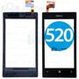 Tela Vidro Touch Nokia Lumia 520 502.2 C/ Aro