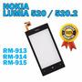 Tela Vidro Touch Nokia Lumia 520 520.2 Frete Apenas 7,00 R$