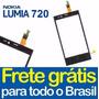 Tela Vidro Touch Nokia Lumia 720 N720 + Frete Grátis Brasil