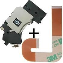 Kit Leitor Óptico + Flat J Playstation 2 Slim Ps2 Pr802w