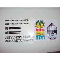 Adesivo Monarerta Aguia Imperial 74 Frete Grátis