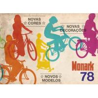 Bicicletas Antigas - Catálogo Monark 1978 - Digitalizado
