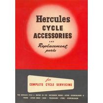 Bicicletas Antigas - Catálogo Hercules Partes E Peças