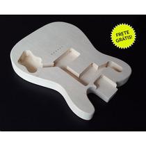 Corpo De Guitarra Mod. Telecaster Deluxe (madeira Marupá)