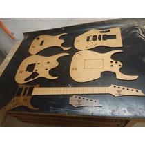 Kit Gabarito - Ibanez Jem - Luthier - Corte A Laser
