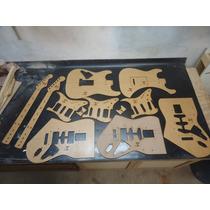 Kit Gabaritos - Stratocaster - Luthier - Cortado A Laser