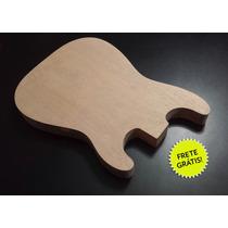 Corpo De Guitarra Mod. Stratocaster Cedro Rosa S/ Cavidades!