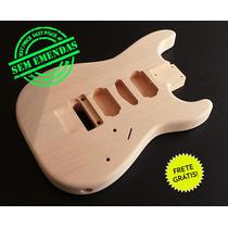 Corpo De Guitarra Mod. Strato Hsh Cedro Rosa P/ Floyd Rose!
