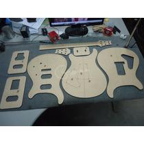 Kit Gabaritos - Prs Custom - Cortados A Laser - Luthier