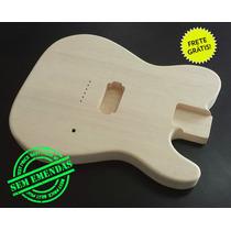 Corpo Guitarra Similar Ao Mod. Telecaster H - Marupá!