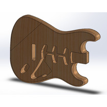 Corpo De Guitarra Stratocaster Padrão Fender Sss Em Tauari!