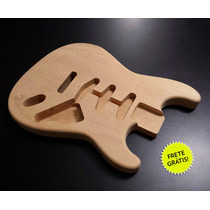 Corpo De Guitarra Mod. Stratocaster Madeira Cedro Rosa!