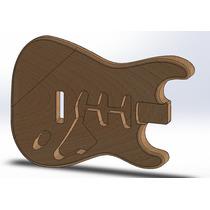 Corpo De Guitarra Stratocaster Padrão Fender Sss Em Cedro!