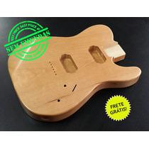 Corpo Guitarra Similar Mod. Telecaster Cedro Rosa/seladora!