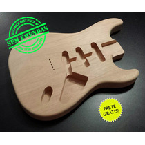 Corpo Guitarra Similar Strato Cedro Rosa P/ Uso Ponte Gtc102